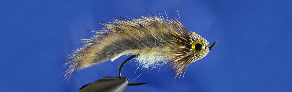 Trout zonker with deer hair head - the best streamer for trout.