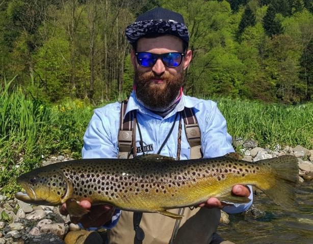 Cheap fly fishing trips Europe, Brown Trout fishing
