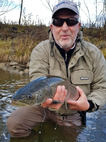 First hucho on LOOP rod. Great guide in Poland