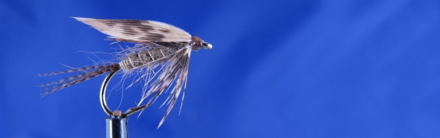Classic wet fly for trout. Mallard, pheasant & hare dubbing