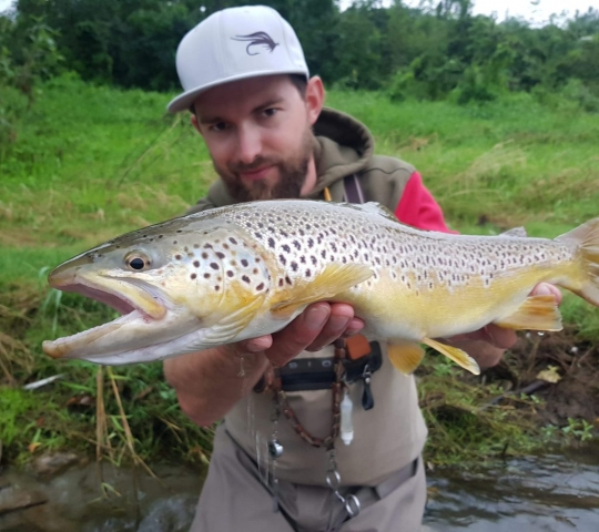 Fly fishing trips, fly fishing guide Poland