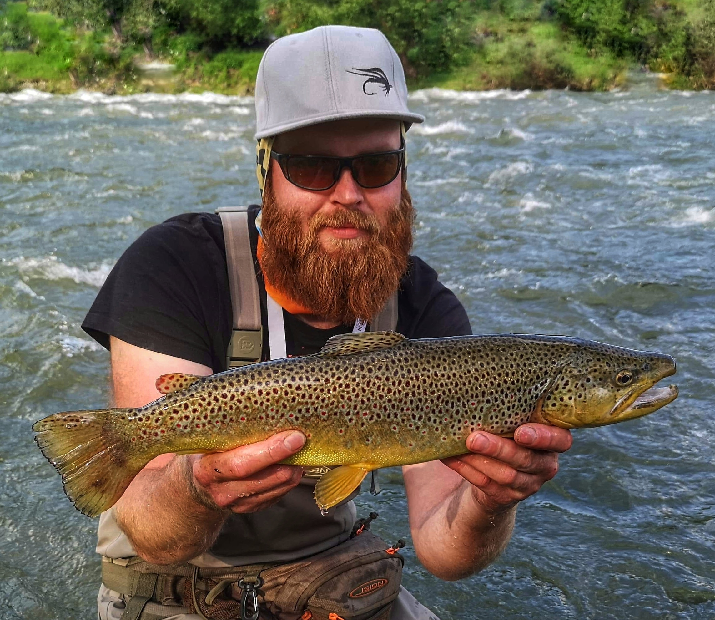 Guided fly fishing in Poland - Dunajec River