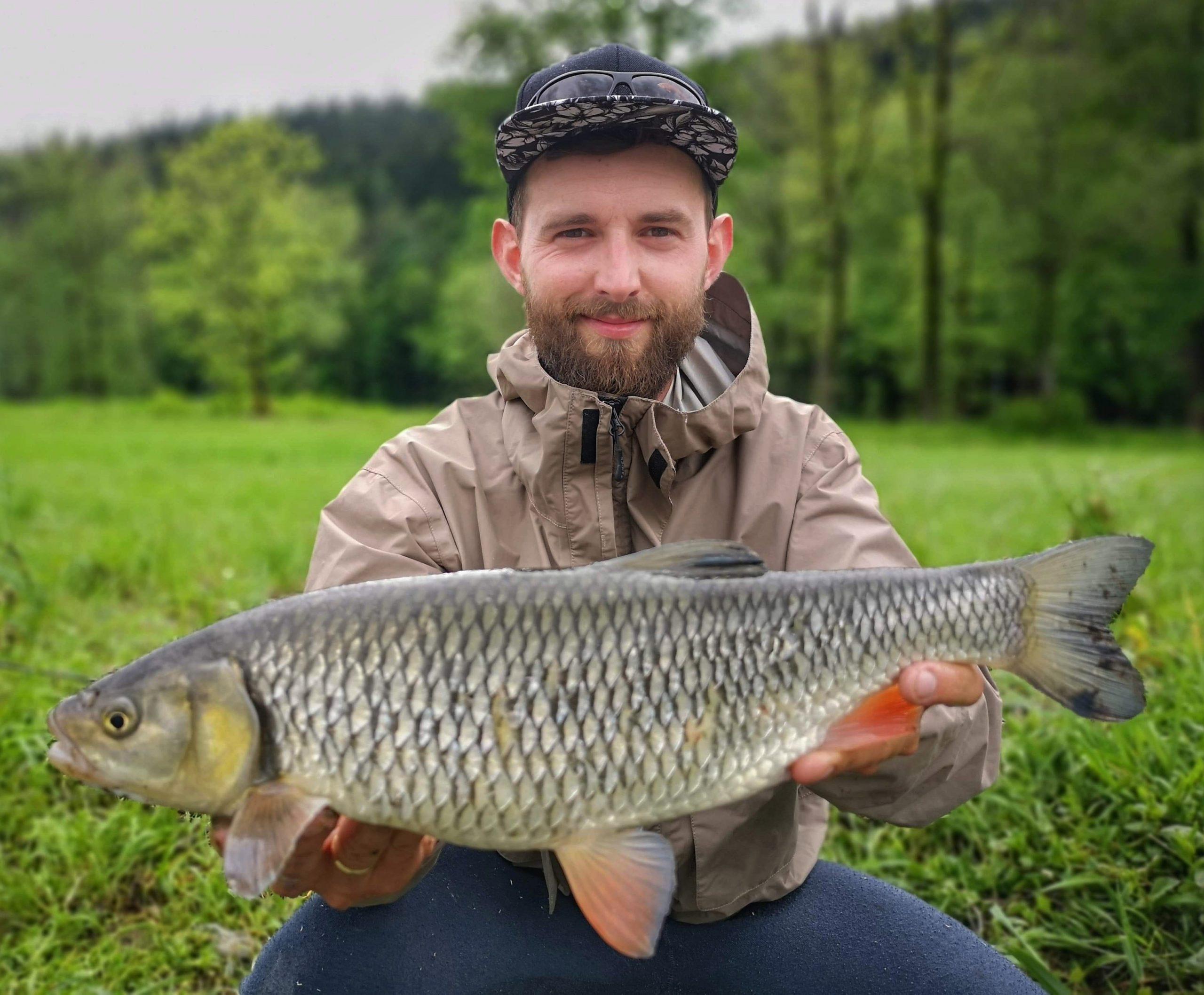 Dunajec and chub - nymph fishing - Poland