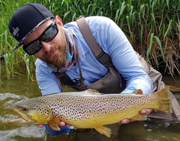 No kill area Dunajec River - Poland Fly Fishing