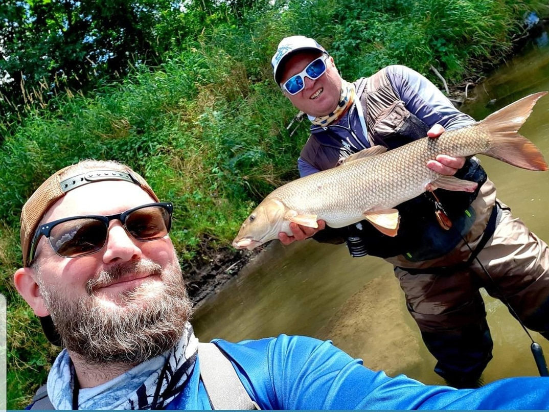 Best fishing guiding in Poland - Dunajec River - Fly fishing