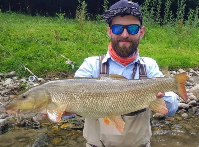 Nymph fishing for big fish - Poland