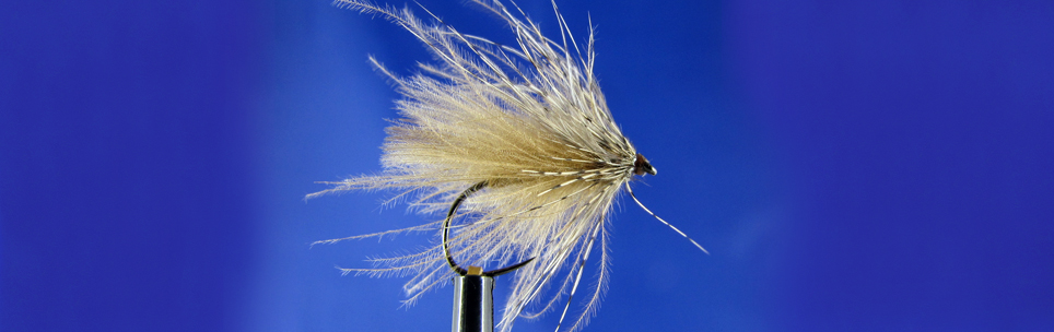 CDC Dry Caddis, dry fly fishing for trout,