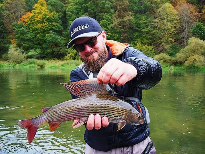 Grayling fly fishing trips, Poland Slovakia Europe