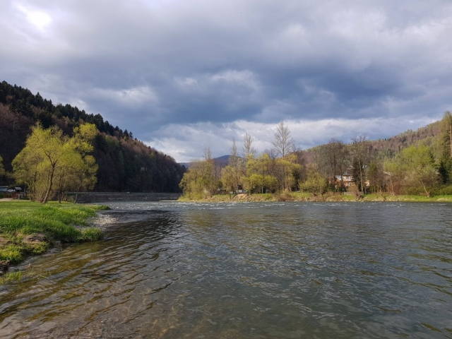 Great streamer fishing spot