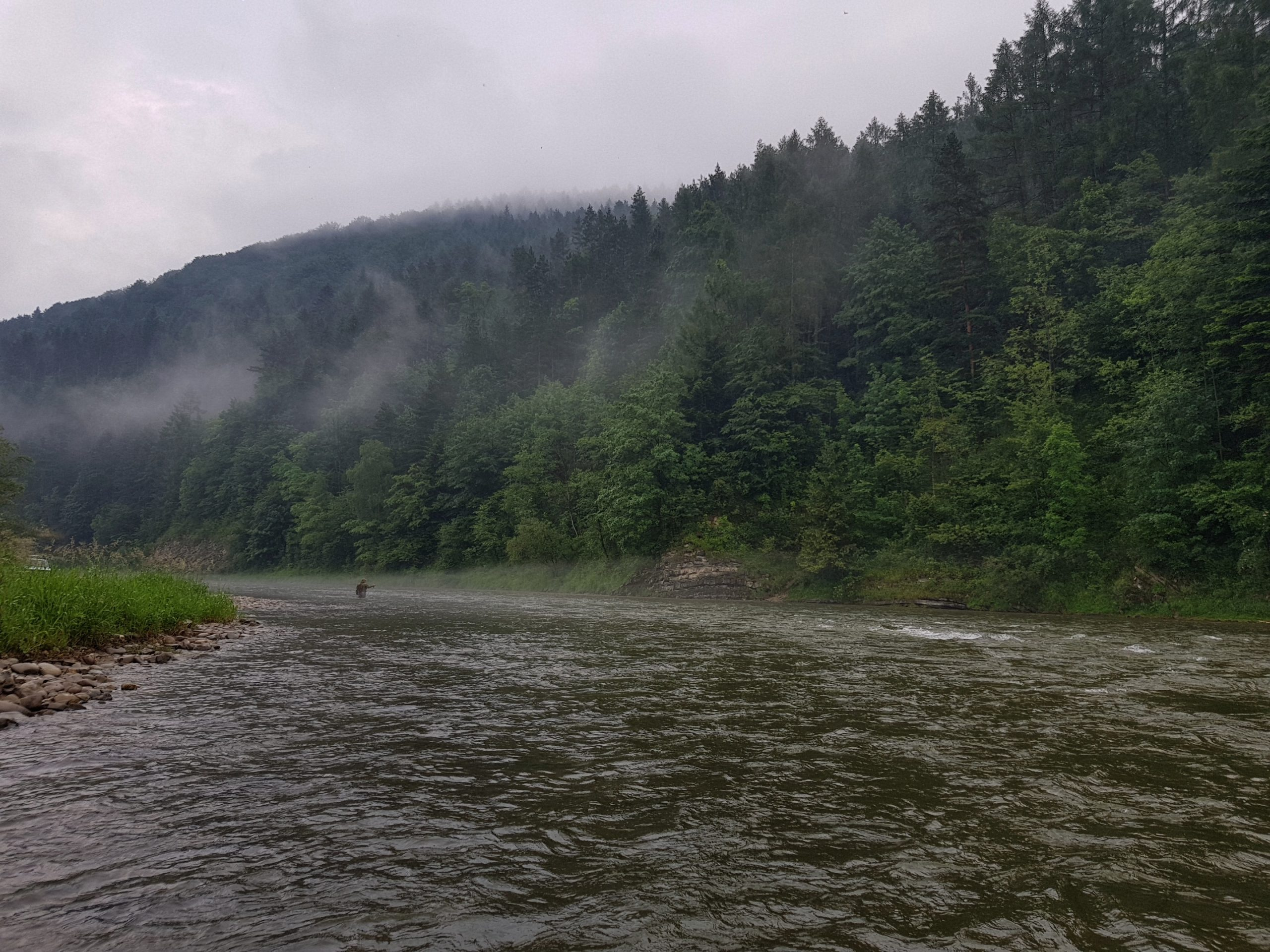 The best place for big trout, grayling and Hucho-hucho