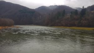 River conditions:    Dunajec River                     26 December 2019