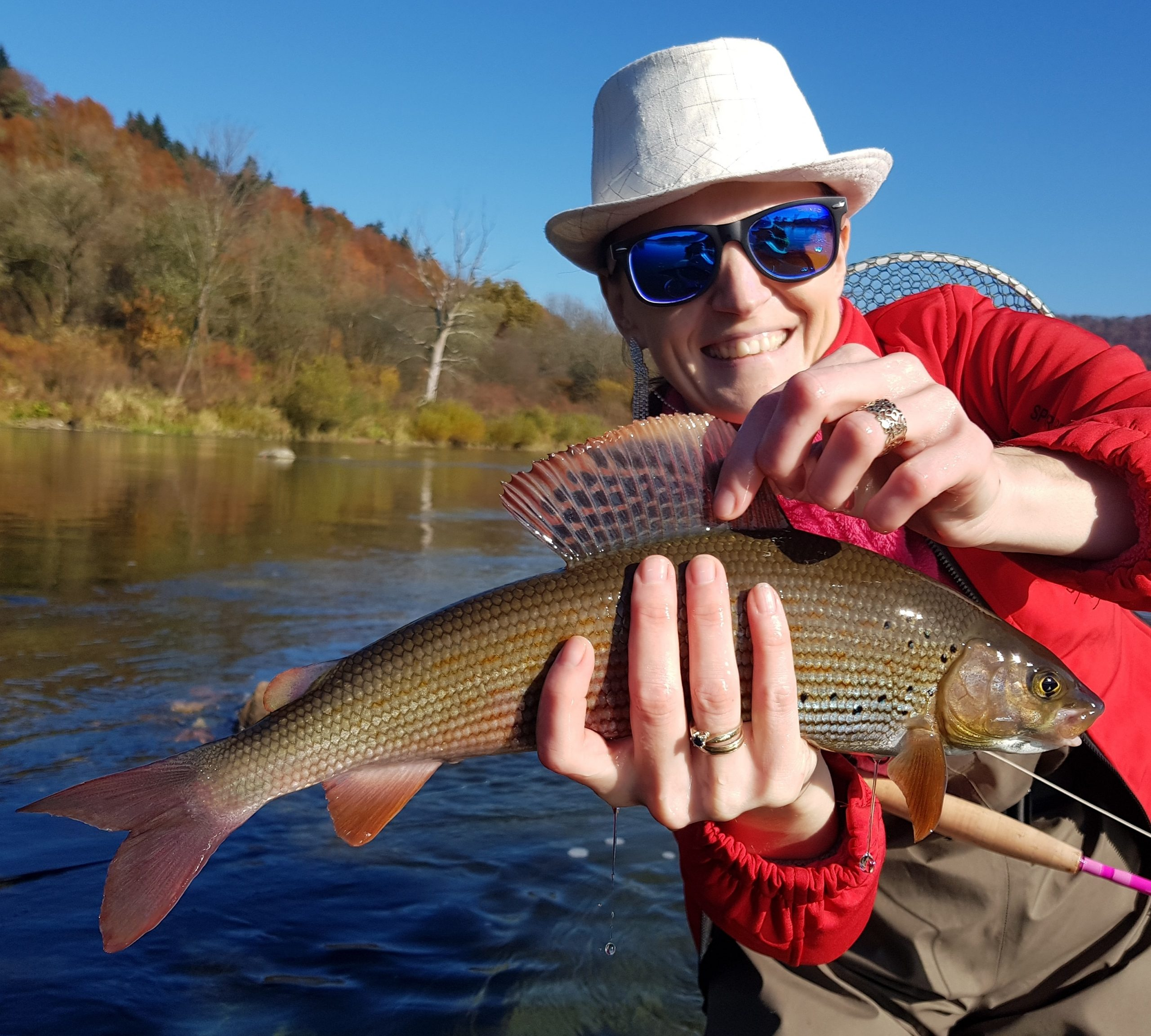 Small dry fly for grayling - east europe fishing trips