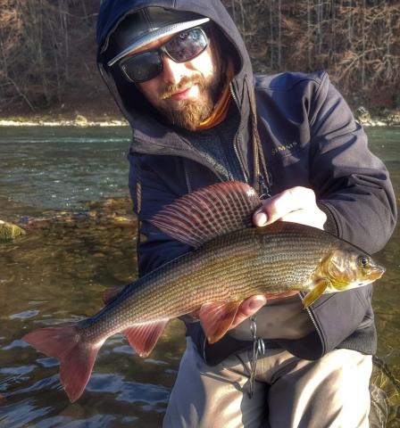 Dunajec River Fly fishing no kill zone