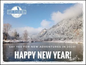 Happy New Year from Fly Fishing in Poland!!!