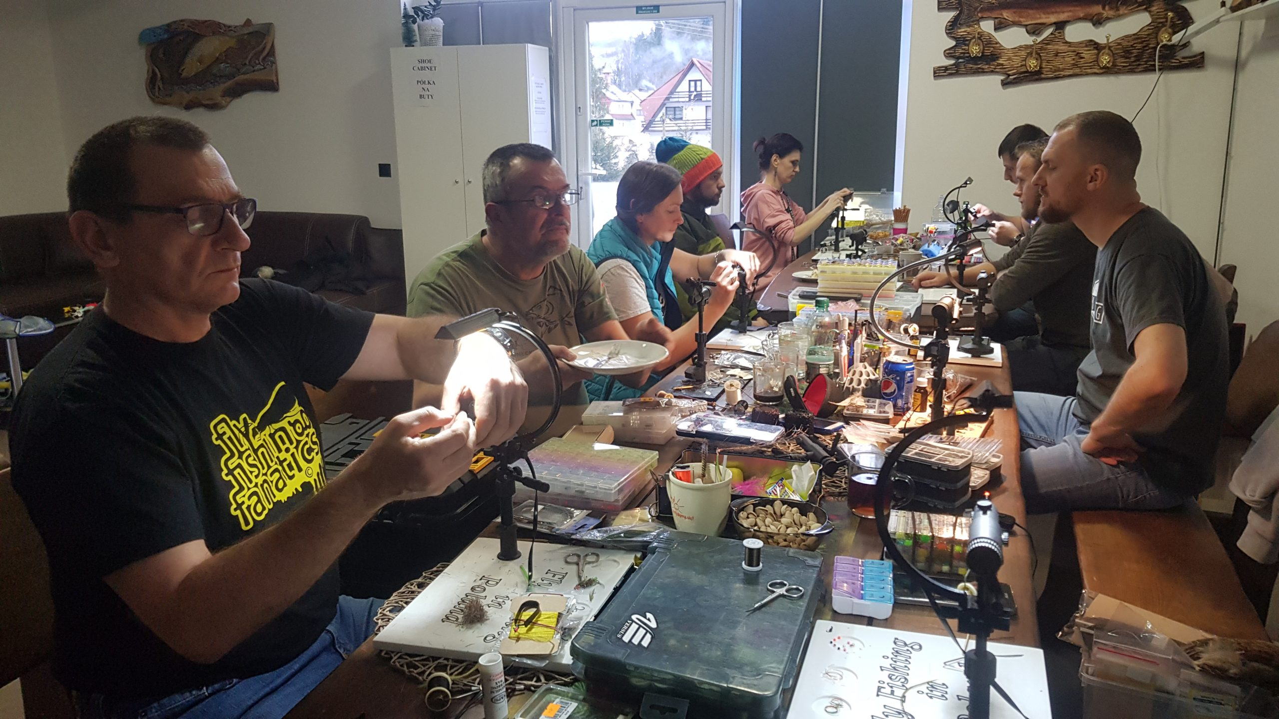 Fly tying workshops!