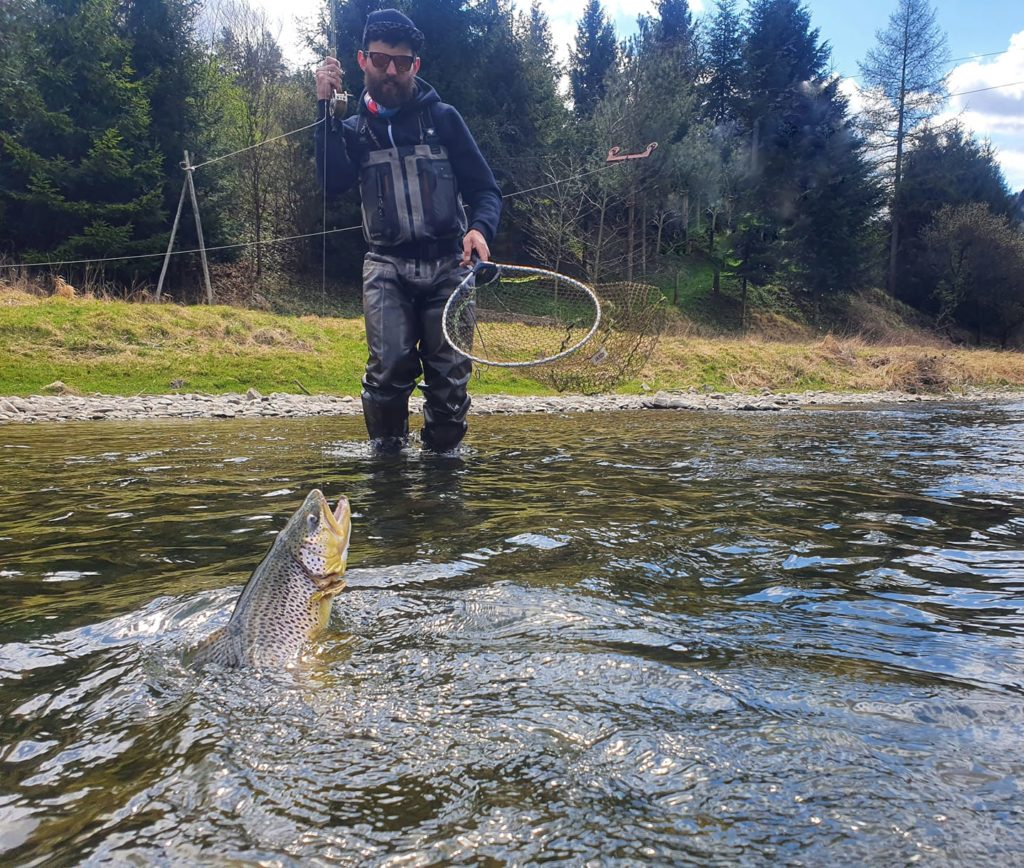 NO KILL fishing zone – Dunajec River